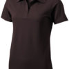 Seller Damen Poloshirt - chocolate brown