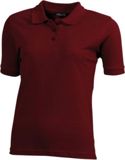Damen Werbeartikel Poloshirt Classic - wine