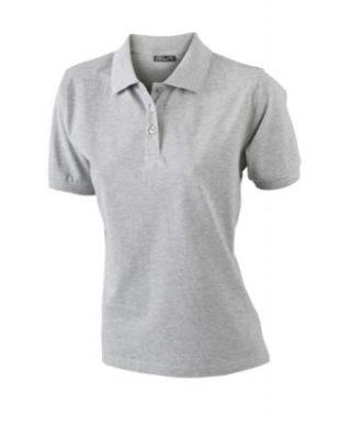 Damen Werbeartikel Poloshirt Classic - grey heather