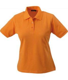 Damen Werbeartikel Poloshirt Classic - orange