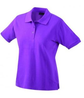 Damen Werbeartikel Poloshirt Classic - purple