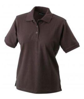 Damen Werbeartikel Poloshirt Classic - brown