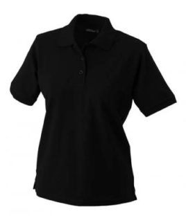 Damen Werbeartikel Poloshirt Classic - black