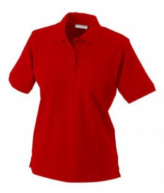 Damen Werbeartikel Poloshirt Classic - red