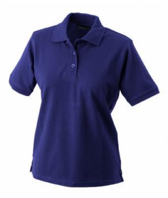 Damen Werbeartikel Poloshirt Classic - aubergine