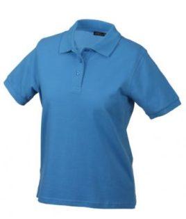 Damen Werbeartikel Poloshirt Classic - aqua