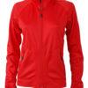 Ladies Basic Fleece Jacket - light red/chili