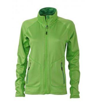 Ladies Basic Fleece Jacket - spring green/green