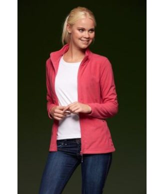 Ladies Basic Fleece Jacket