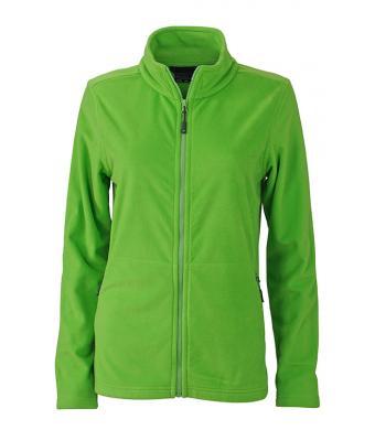 Ladies Basic Fleece Jacket - spring green