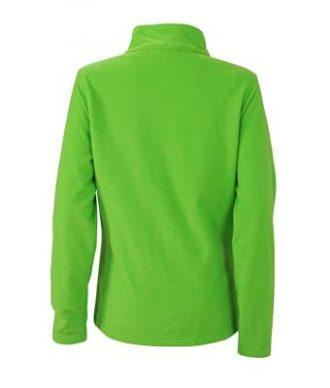 Ladies Basic Fleece Jacket - spring greenRückenansicht