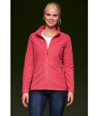 Ladies Basic Fleece Jacket - Passformleicht tailliert