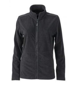 Ladies Basic Fleece Jacket - schwarz