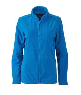Ladies Basic Fleece Jacket - cobalt