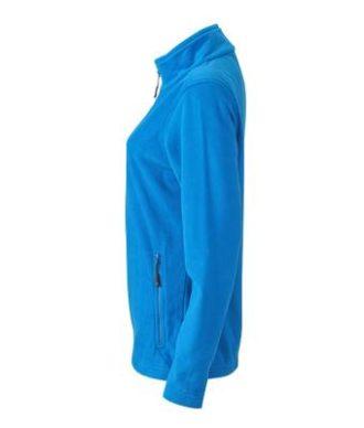 Ladies Basic Fleece Jacket - cobaltSeitenansicht