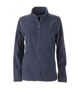 Ladies Basic Fleece Jacket - navy