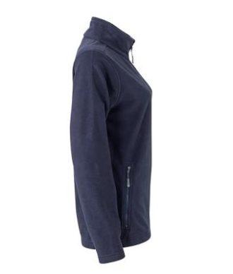 Ladies Basic Fleece Jacket - navySeitenansicht