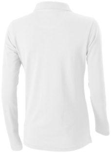 Oakville Damen Poloshirt ELEVATE - weißRückenansicht