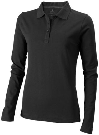 Oakville Damen Poloshirt ELEVATE - anthrazit