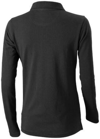 Oakville Damen Poloshirt ELEVATE - anthrazitRückenansicht