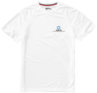 Serve T Shirt Slazenger - weiß