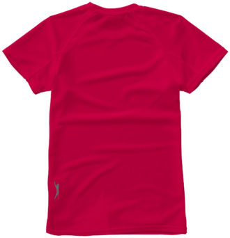 Serve Damen T Shirt Slazenger - rotRücken