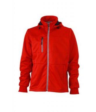 Mens Maritime Jacket - red / navy / white