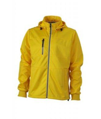Mens Maritime Jacket - sun-yellow / navy / white