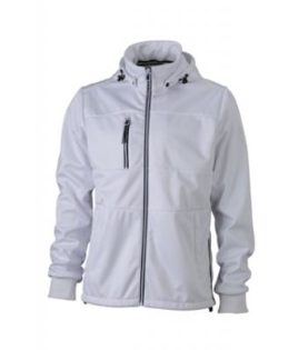 Mens Maritime Jacket - white / white / navy
