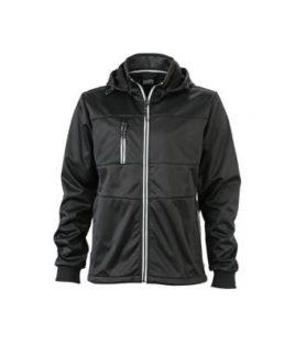 Mens Maritime Jacket - black / black / white