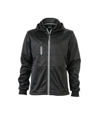 Mens Maritime Jacket - black / black / white