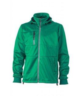 Mens Maritime Jacket - irish green / navy / white