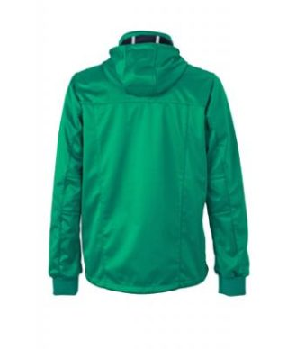 Mens Maritime Jacket - irish green / navy / white