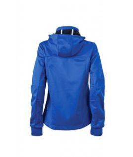 Ladies Maritime Jacket James & Nicholson - nautic blue / navy / white