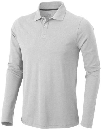 Oakville Poloshirt ELEVATE - grau meliert