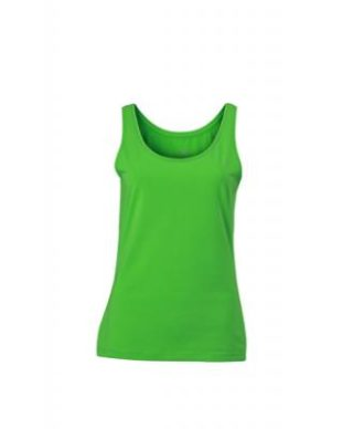 Ladies Elastic Top James & Nicholson - lime green