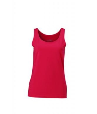 Ladies Elastic Top James & Nicholson - magenta