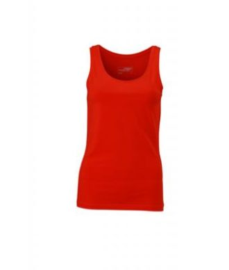 Ladies Elastic Top James & Nicholson - tomato
