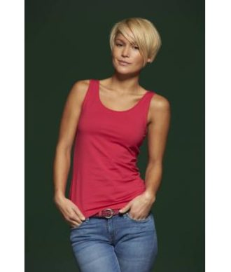 Ladies Elastic Top James & Nicholson - figurbetonter Schnitt