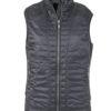 Ladies Lightweight Vest James & Nicholson - black/silver
