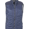 Ladies Lightweight Vest James & Nicholson - navy/silver