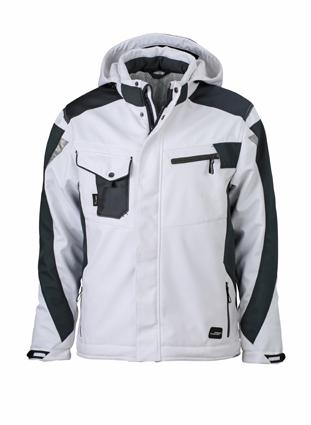 Craftsmen Softshell Jacket - white/carbon