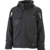 Craftsmen Softshell Jacket James & Nicholson - black/black