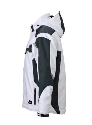 Craftsmen Softshell Jacket James & Nicholson - SeitenansichtRe