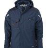 Craftsmen Softshell Jacket James & Nicholson - navy/navy