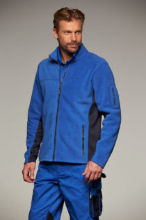 Mens Workwear Fleece Jacket James & Nicholson