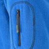 Mens Workwear Fleece Jacket James & Nicholson - seitlicheReißverschlussTasche