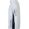 Mens Workwear Fleece Jacket James & Nicholson - Softshell Einsätzean den Seiten