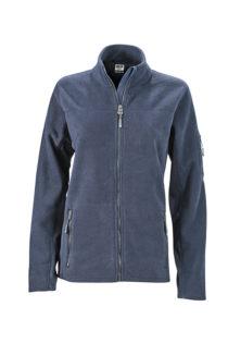 Ladies Workwear Fleece Jacket James & Nicholson - navy/navy