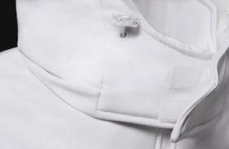 Hooded Softshell Men B&C - abnehmbareKapuzegrößenverstellbarKinnschutz